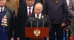 """Poetin: """"Niemand zal ooit Rusland verslaan"""""""