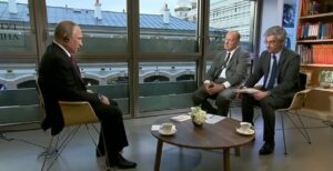 Video: Poetin over Oekraïne, Syrië en de NAVO
