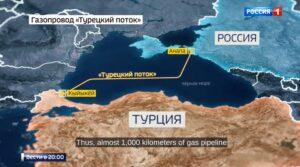Rusland begint aanleg Turkish Stream