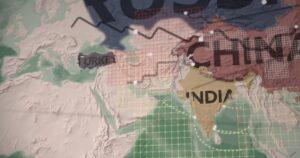 Nieuwe handelsroutes van de Zijderoute