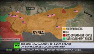 "Lavrov: ""Amerikaanse militaire bases in Syrië zijn illegaal"""