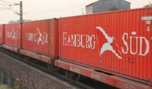 China laat goederentrein naar Hamburg rijden