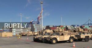 Meer Amerikaanse tanks arriveren in Polen