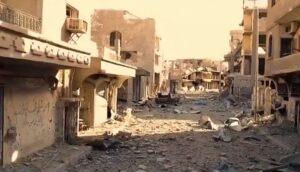 """Rusland: """"Internationale coalitie heeft Raqqa van de kaart geveegd"""""""