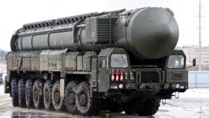 Rusland voert oefening uit met verschillende raketten