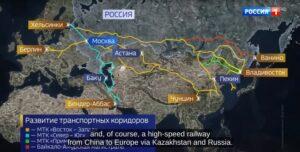 Rusland en China werken aan Euraziatische hogesnelheidslijn