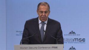 """Lavrov: """"Rusland staat open voor gelijkwaardige samenwerking met EU"""""""