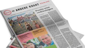Nieuwe krant gelanceerd: De Andere Krant