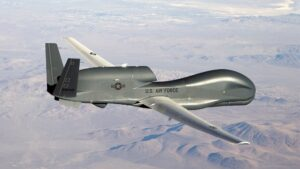 Amerikaanse spionagevliegtuigen bij de Krim