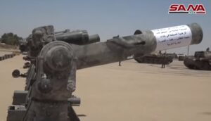 Nog meer Amerikaanse wapens gevonden in Syrië