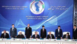 Topoverleg Kaspische Zee regelt rechtsstatus en houdt buitenlandse troepen weg