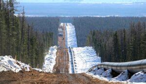Rusland en China nemen Power of Siberia pijpleiding in gebruik