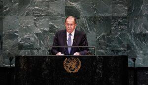 Lavrov: 'Sommige landen proberen internationaal recht te ondermijnen'