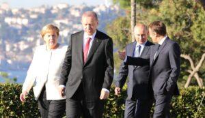 Rusland, Turkije, Frankrijk en Duitsland bespreken wederopbouw Syrië