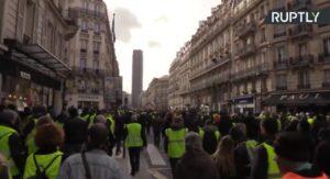 Dertiende ronde van demonstraties gele hesjes in Frankrijk