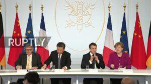 Historisch overleg tussen regeringsleiders Europa en China