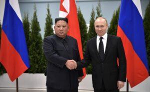 Kim Jong-Un ontmoet Poetin in Vladivostok