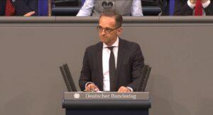 Duitse minister van Financiën op bezoek in Iran