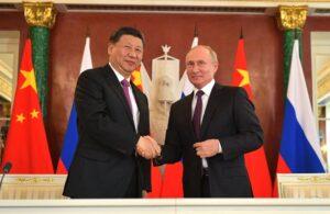 Chinese president brengt bezoek aan Rusland