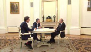 """Poetin: """"Wereld heeft behoefte aan internationale spelregels"""""""