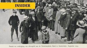 De laatste keer dat Nederlanders bij DNB hun papiergeld konden inwisselen voor goud en zilver