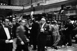 Bloedbad op de financiële markten: AEX 11% lager