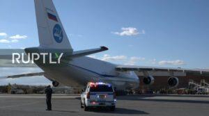 Rusland stuurt humanitaire hulp naar New York