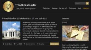 Geotrendlines lanceert nieuwe website voor Trendlines Insider