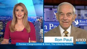 """Ron Paul: """"Centrale banken proberen een systeem te redden dat failliet is"""""""